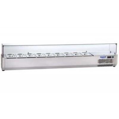 Охлаждаемая витрина Tecnodom гнутое стекло VR4 180 VС